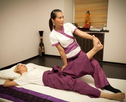 Таиский масаж