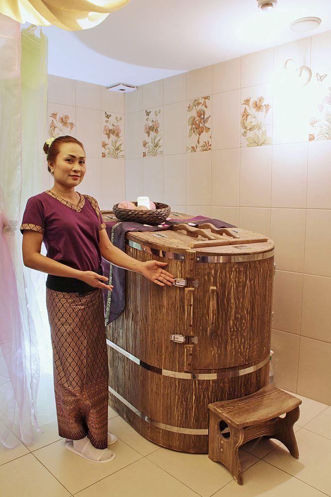 Настоящий тайский массаж тайка не ожидала